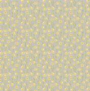 Lewis & Irene Flo's Little Flowers - 4999 - Daffodils on Grey - FLO3-2 - Cotton Fabric